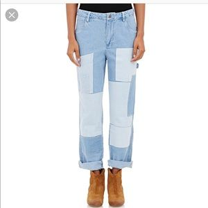 Ulla Johnson Boro Patchwork Jeans- New with Tags